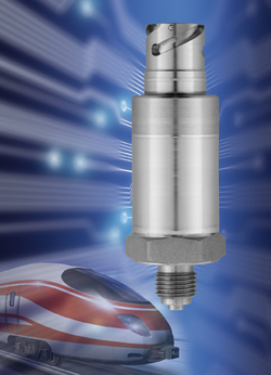 The New JUMO MIDAS S19 R  Pressure Transmitter, Robust technology tailored specifically to the railway industry