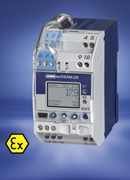 JUMO exTHERM-DR Protects with Certified Safety, New two-state controller with Ex (ia) input according to ATEX