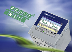 JUMO DICON touch in the PROFINET World, Process and program controller with future-proof interface