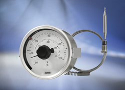 High-Quality Dial Thermometers, JUMO dicoTEMP 800 is universally applicable