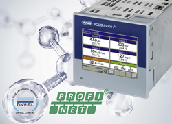JUMO AQUIS touch P Continues to Grow, Modular multichannel measuring device now with PROFINET and DNV GL-approval