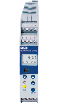 JUMO ecoTRANS Lf 03 - Transmitter / Switching Device for Conductivity or Resistance and Temperature (202732)