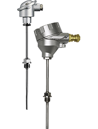JUMO PROCESStemp RTD Temperature Probe for Process Technology with Ex Approval (902820)