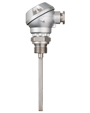 Screw-in RTD Temperature Probe with Form J Terminal Head (902030)