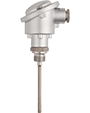 Mineral-Insulated RTD Temperature Probe with Form B Terminal Head According to DIN EN 60751 (902210)